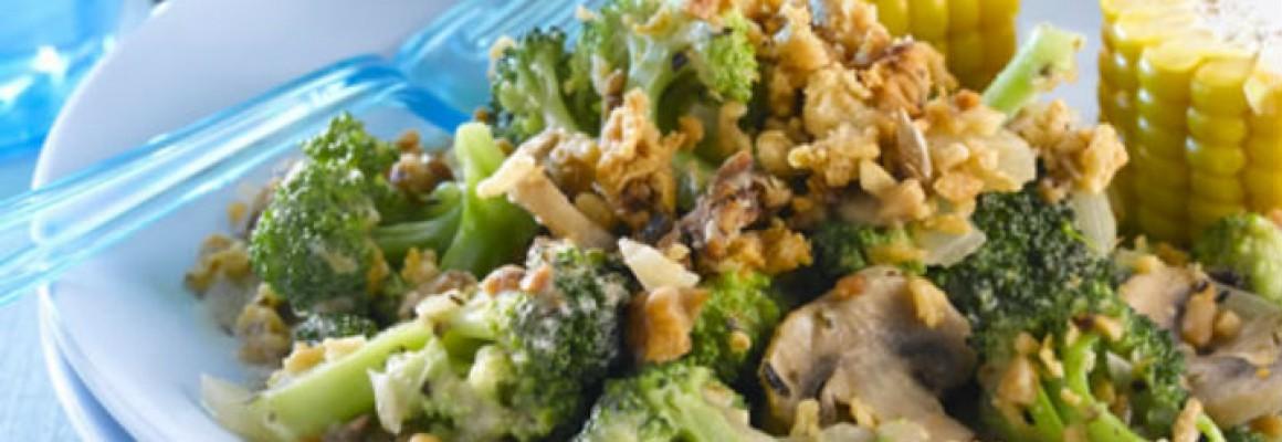 Broccoli and Mushroom Crunch 500