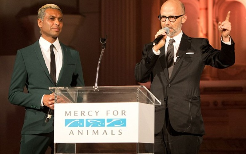 Moby announces launch of vegan music festival at Mercy for animals 2016 Hidden Heroes charity Gala