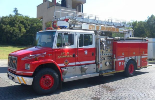Johannesburg get 29 Fire Engines back on the road in one month