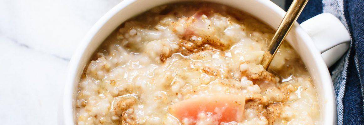 apple-steel-cut-oatmeal